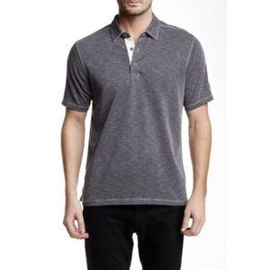 Tommy Bahama Paradiso Polo Shirt Onyx Medium